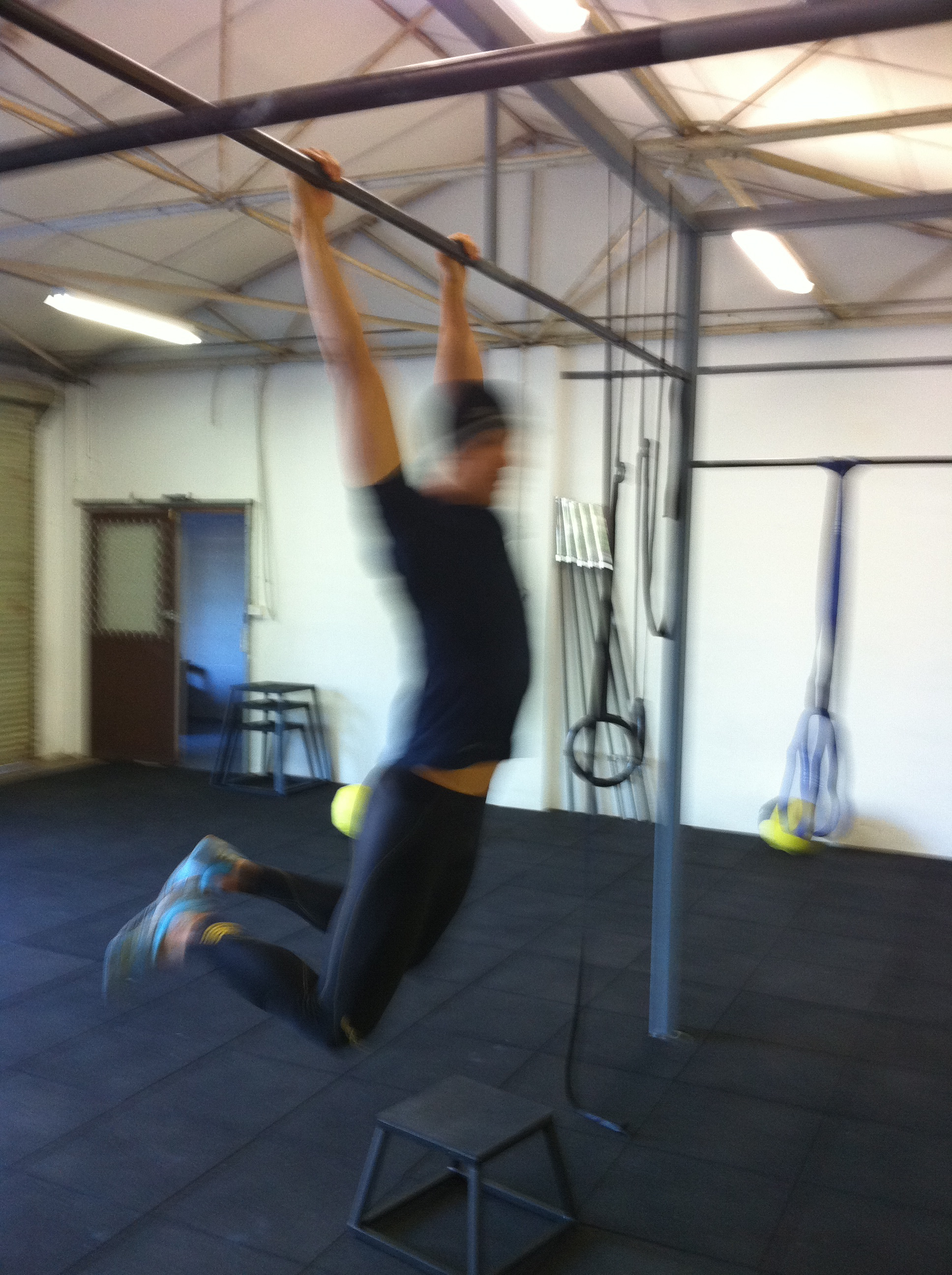 Muscle Ups On The Bar