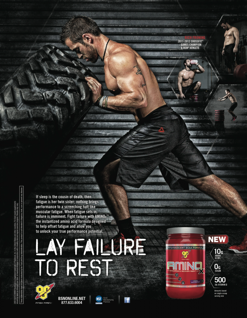 Rich Froning BSN advert