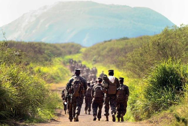 Marines Run
