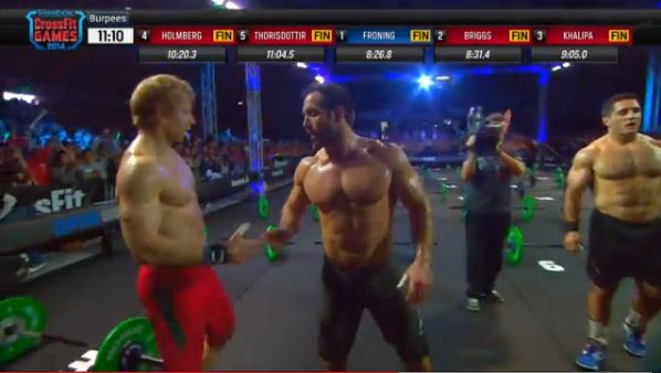 Froning Defeats Briggs in 14.5