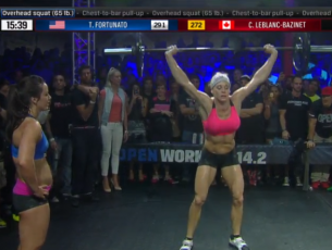 Fortunato Defeats Leblanc Bazinet in CrossFit Open 14.2
