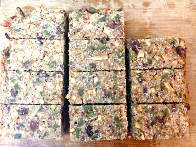 Paleo Recipes Apple Brekky Bars