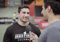 Rob Forte Wins Schwartz's Challenge & Talks CrossFit Invitational